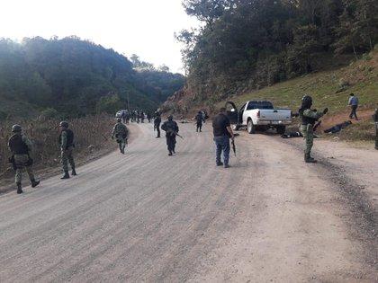 Los Ardillos pelean por el control de la montaña baja de Guerrero para el trasiego de drogas (Foto: Cuartoscuro)