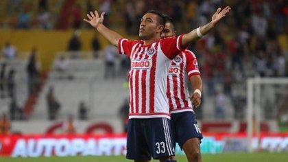 Fabián tiene un largo pasado con los rojiblancos y hasta jugó en Tapatío, la filial formativa de las Chivas (Foto: Cuartoscuro)