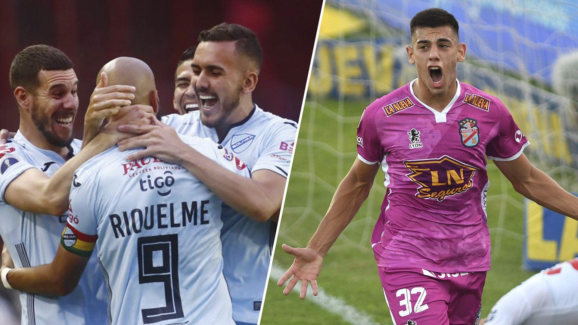 Bolivar vs Arsenal - Copa Sudamericana