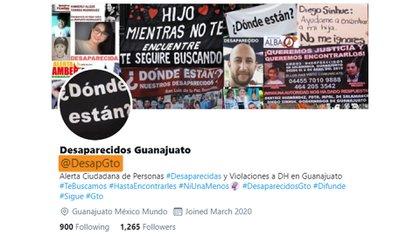 Desaparecidos Guanajuato es una página donde se alerta sobre los ciudadanos desaparecidos