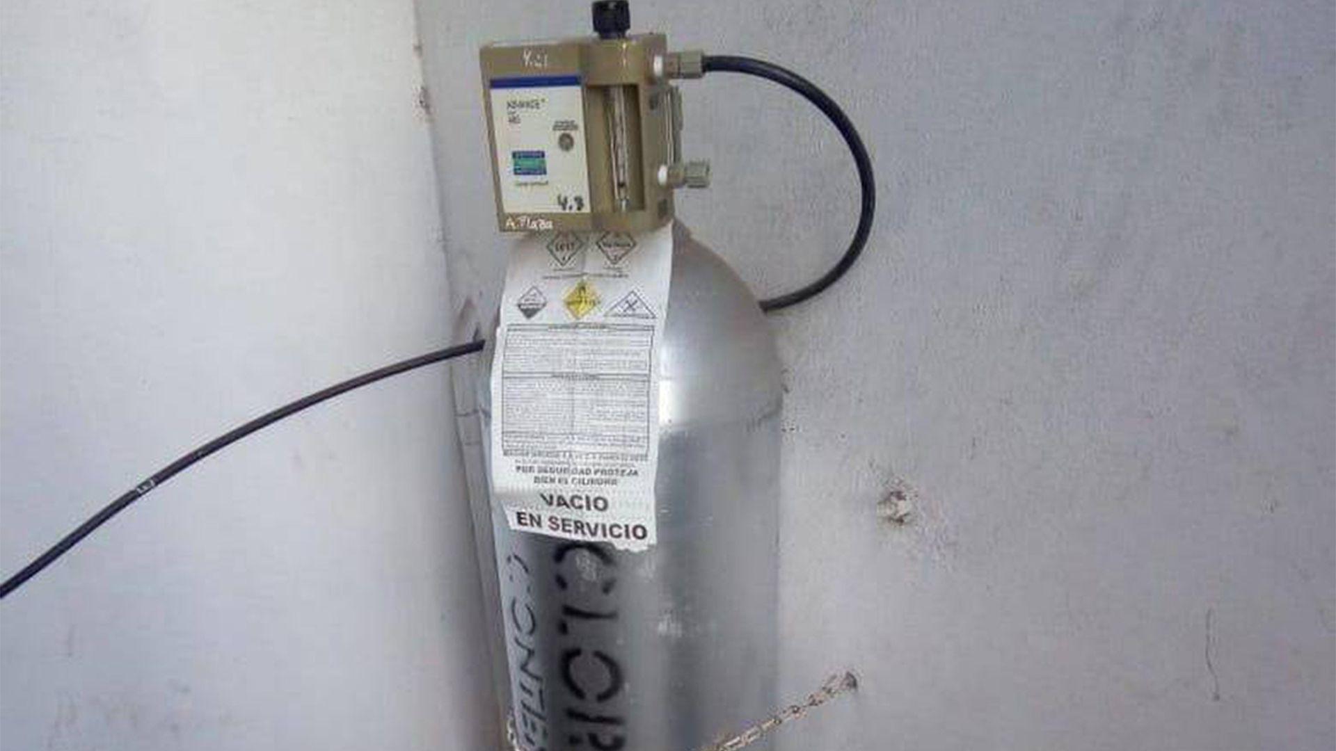 Gas cloro (Foto: Archivo)