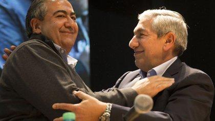 Héctor Daer y su hermano mayor, Rodolfo: ambos debían haber ido este año a elecciones en Sanidad y Alimentación