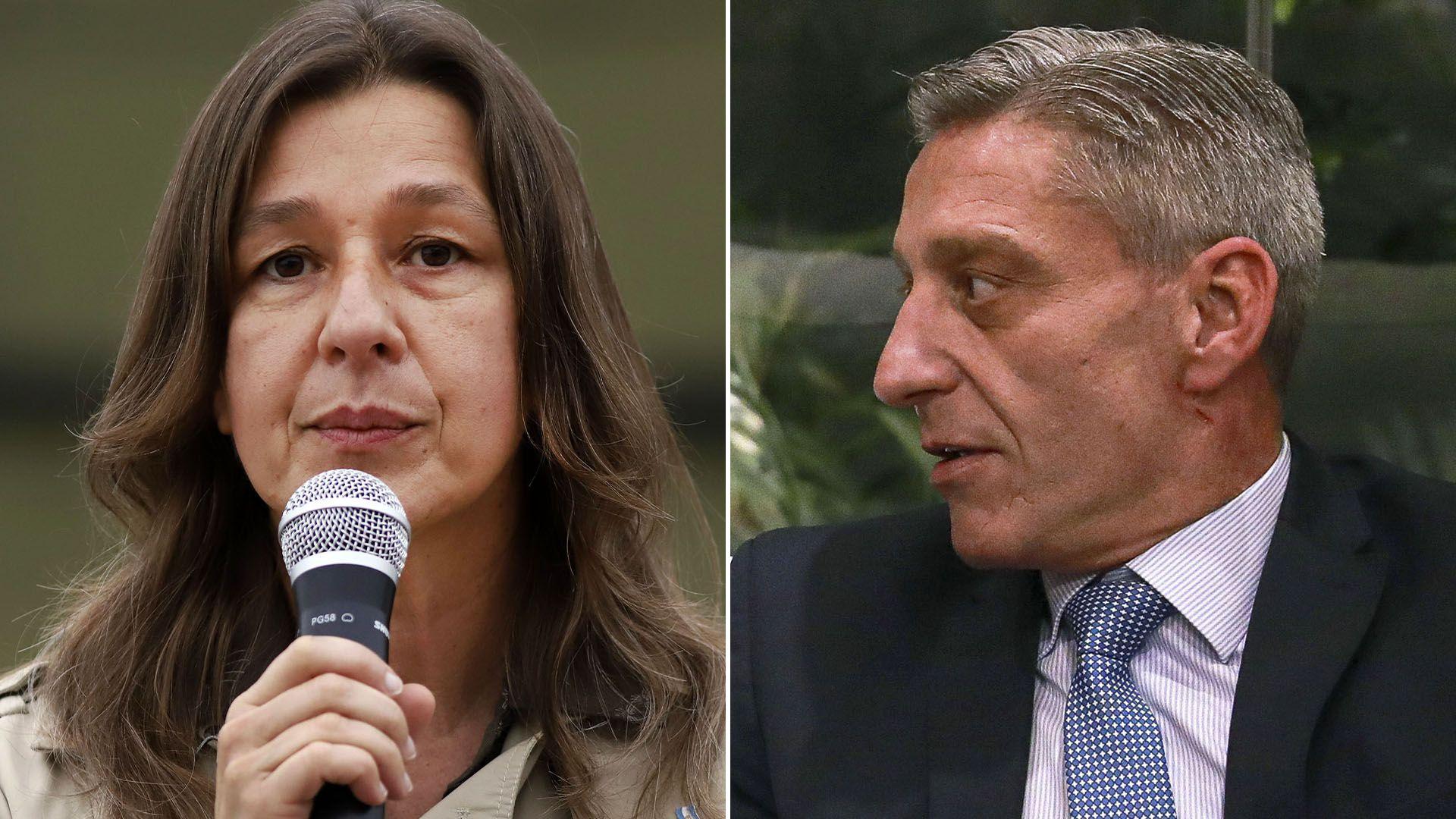 Sabrina Frederic y Mariano Arcioni