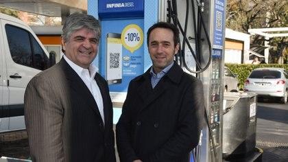 Miguel Ángel Gutiérrez y Marcos Galperin, presidentes de YPF y Mercado Libre