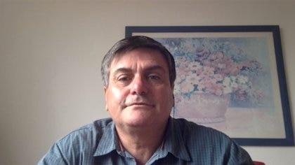 Marcelo Gallo Tagle, en la entrevista esta mañana con Infobae por Zoom