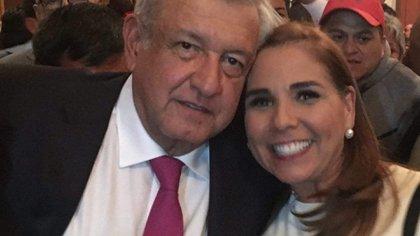 La alcaldesa de Cancún, Quintana Roo, Mara Lezama vive en bonanza con su familia (Foto: Facebook/Mara Lezama)
