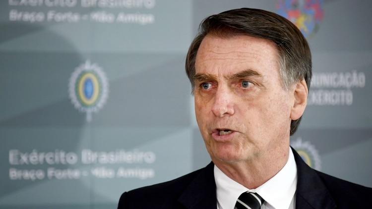Jair Bolsonaro asumirá la presidencia de Brasil el próximo 1 de enero. Las agencias de inteligencia de la región están en alerta máxima (EVARISTO SA / AFP)