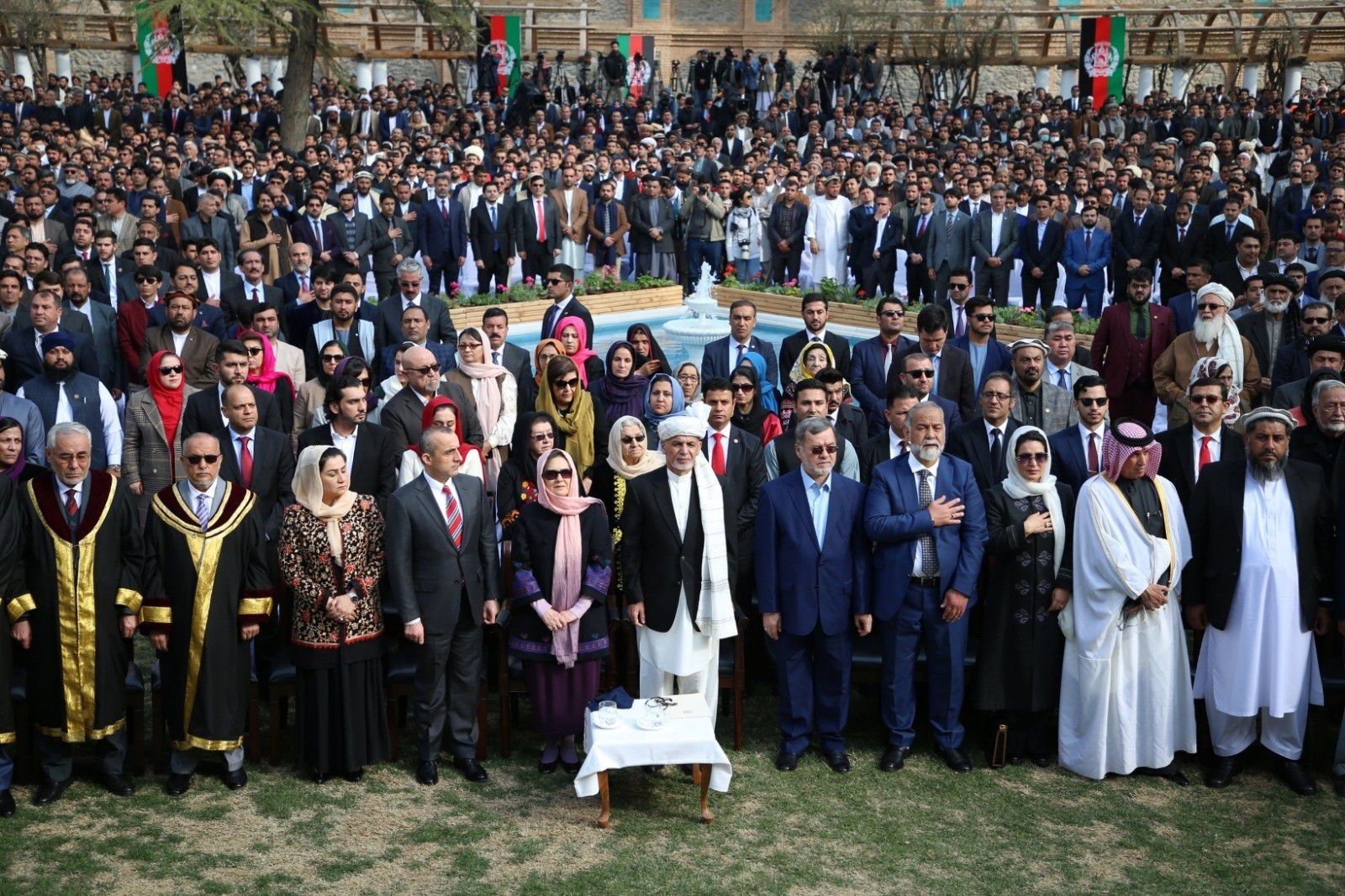 09/03/2020 Toma de posesión de Ashraf Ghani en el palacio presidencial de Kabul POLITICA ASIA INTERNACIONAL AFGANISTÁN PRESIDENCIA DE AFGANISTÁN
