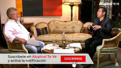 """Yordi Rosado habla acerca de su peor entrevista, fue con un famoso que estaba """"drogadísimo"""" (Captura de pantalla / YouTube Atypical Te Ve)"""