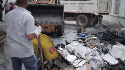 Ofrecen $50 millones de recompensa por quienes quemaron la Alcaldía de Jamundí