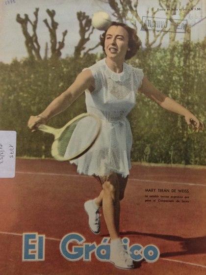 Profundamente deprimida, se suicidó el 8 de diciembre de 1984 (Foto: Archivo TEA y Deportes)