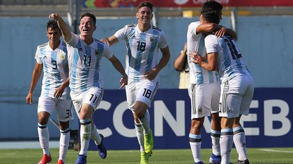 Argentina tiene muchas chances de ser campeón nuevamente tras el título de 2015 (AFP)