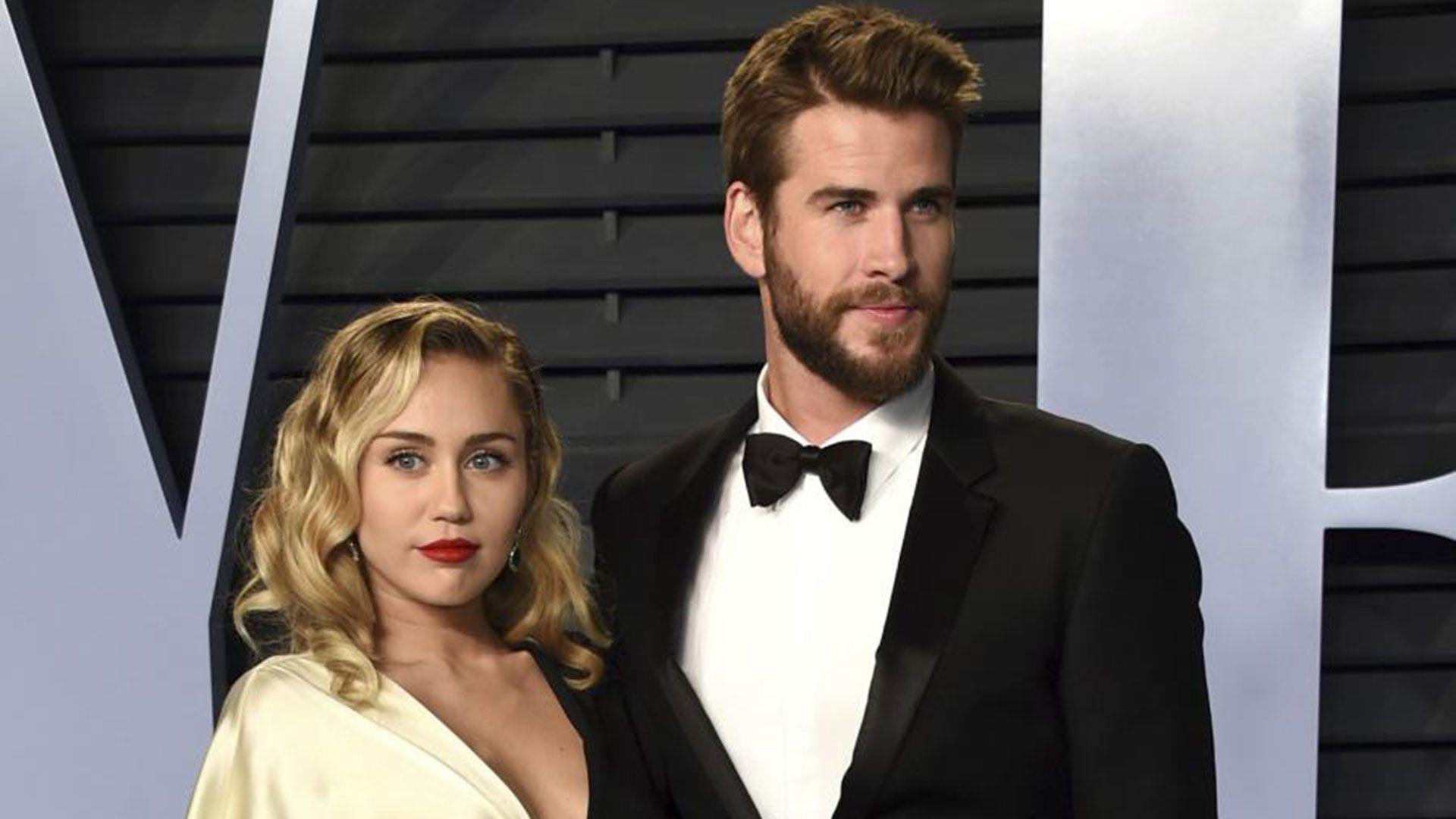 Liam y Miley se conocieron en 2009 (AP)