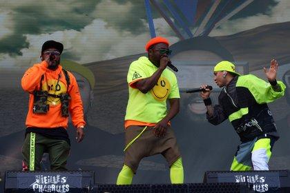 The Black Eyed Peas en un concierto. EFE/EPA/HUGO MARIE/Archivo