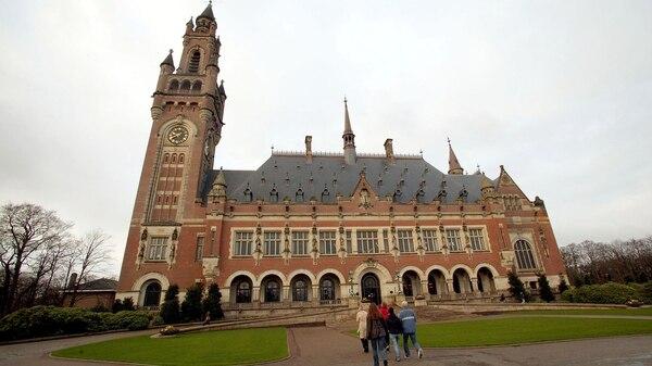 La Corte Internacional de Justicia de La Haya, que se expresará sobre el conflicto (Getty)