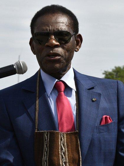 Teodoro Obiang Nguema, presidente de Guinea Ecuatorial