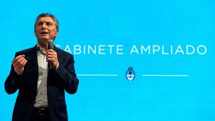 El presidente Mauricio Macri (Télam)