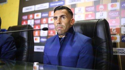 Tevez pateó el tablero en las negociaciones con Riquelme y el Consejo de Fútbol de Boca (@BocaJrsOficial)