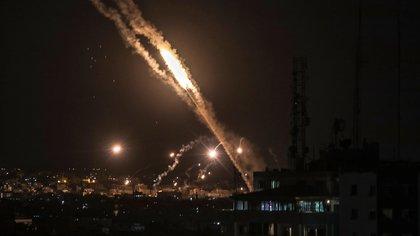 Israel lanzó un intenso ataque aéreo contra el grupo terrorista Hamas en la Franja de Gaza