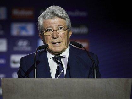 Enrique Cerezo, presidente del Atlético de Madrid (Foto: @doble5mx)