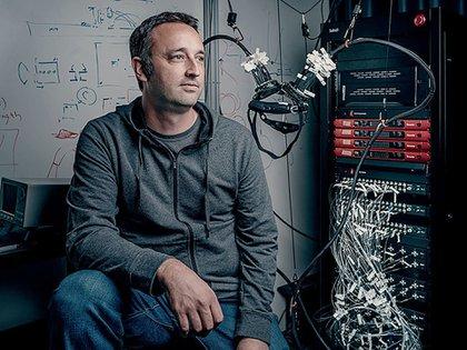 Mark Chevillet es el director del programa de investigación de interfaz cerebro-computadora (BCI) en Facebook Reality Labs. (Facebook)
