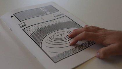Cómic para ciegos (El país)