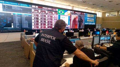 Agentes de Interpol Brasil (Interpol)