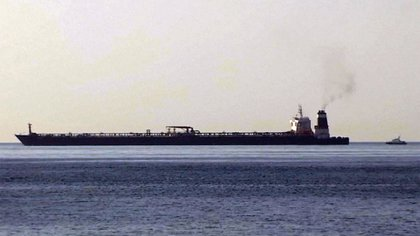 El buque petrolero iraní que fue interceptado por el Reino Unido en Gibraltar