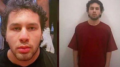Amir Faten Mekky, antes y después de su detención