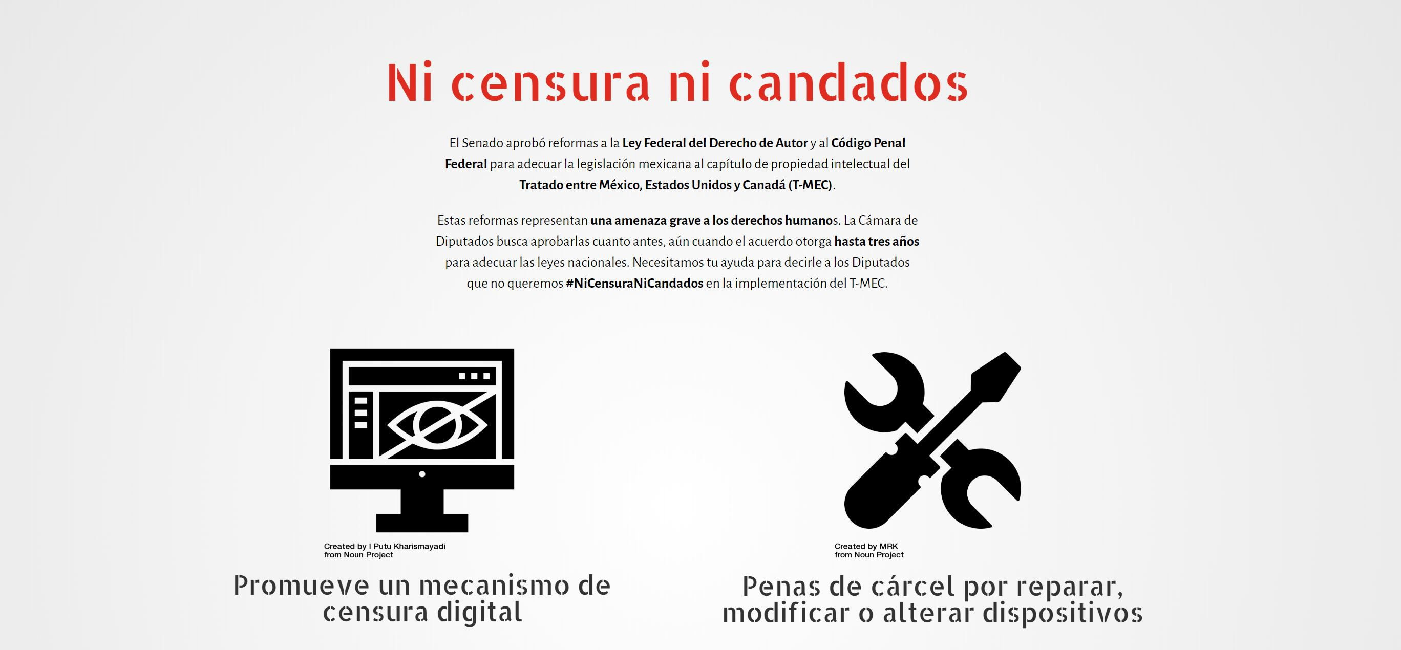censura en internet