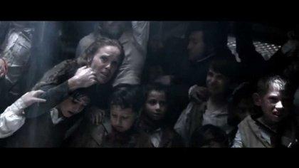 """Una escena de la serie """"22 Ángeles"""", sobre la Expedición de Francisco Javier Balmis"""