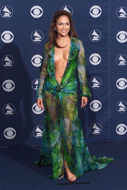 """´""""Realmente no pensé mucho en ello, no pensé que fuera tan arriesgado, para ser honesta. Estaba más emocionada porque eran los Grammy's, no pensé mucho en el vestido. Sólo me sentí aliviada por tener algo que usar"""", comentó la actriz en una entrevista a Vogue en 2020."""