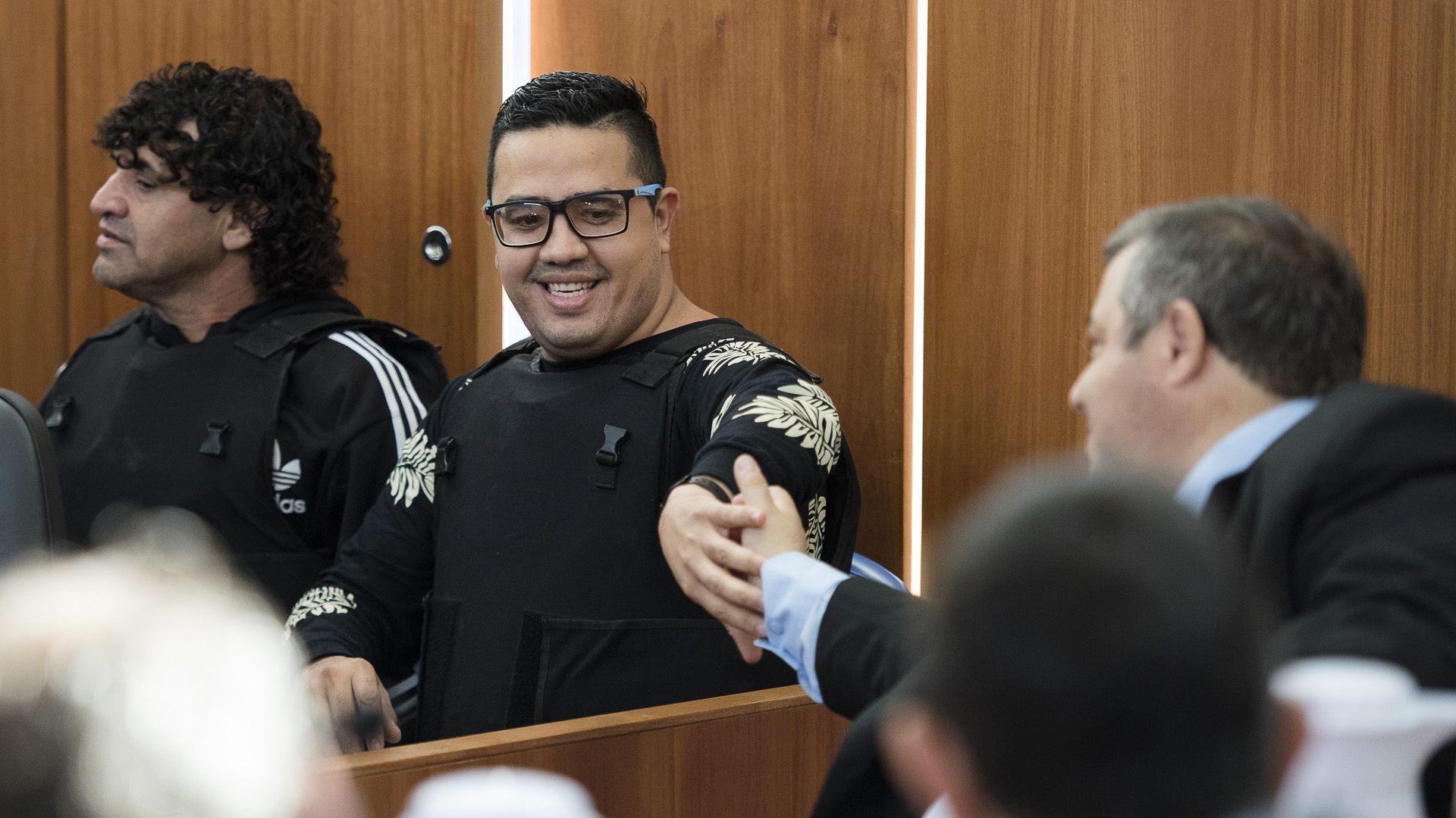 """Ariel """"Guille"""" Cantero, jefe de Los Monos, preso en Marcos Paz (Adrián Escandar)"""