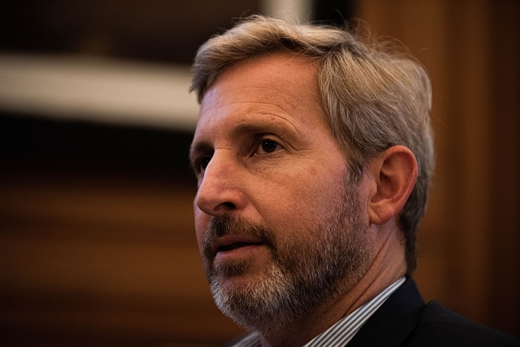 Rogelio Frigerio, ministro del Interior (foto de archivo: Franco Fafasuli)