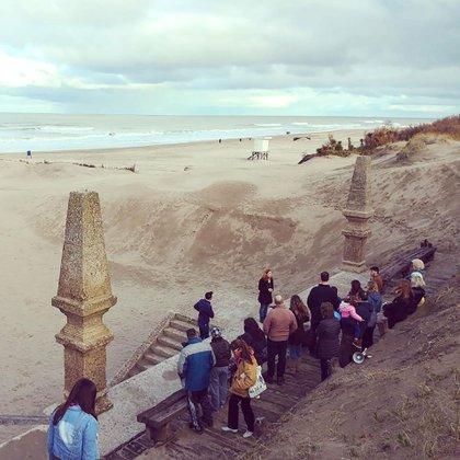 El lugar es visitado por los turistas durante todo año(@pinamarturismo)