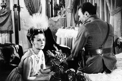 La francesa Jeanne Moreau en el rol de Mata Hari
