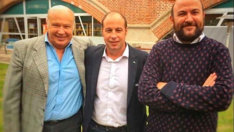Víctor Lusardi (a la izquierda), dueño de al menos dos de las empresas que participaron de la licitación