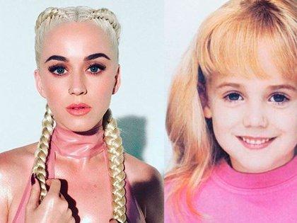 Katy Perry podría ser en realidad una niña que era reina de belleza en los años 90, según una teoría de la conspiración (Foto: Instagram)