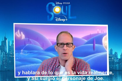 Pete Docter and Kemp Powers, director of 'Soul', pointed out that the film is very special and will connect with people, especially in times of pandemic (Photo: File)