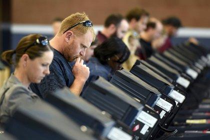Una fotografía de las últimas elecciones en los Estados Unidos (Reuters)