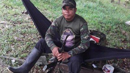 Uno de los tres sujetos dados de baja es alias Coyará. Foto: Ejército Nacional