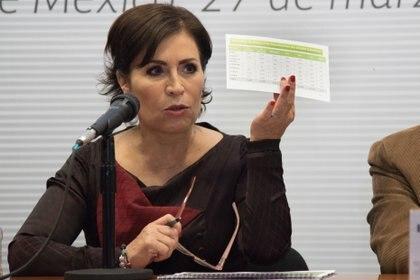Rosario Robles se declarará culpable por el uso indebido del servicio público FOTO: MARIO JASSO /CUARTOSCURO.COM