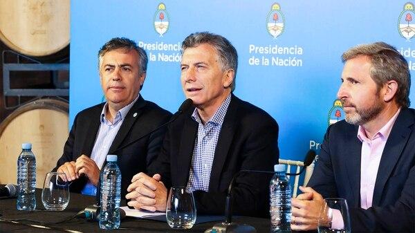 Mauricio Macri. El de hoy es el cuarto paro general durante su gestión (NA)