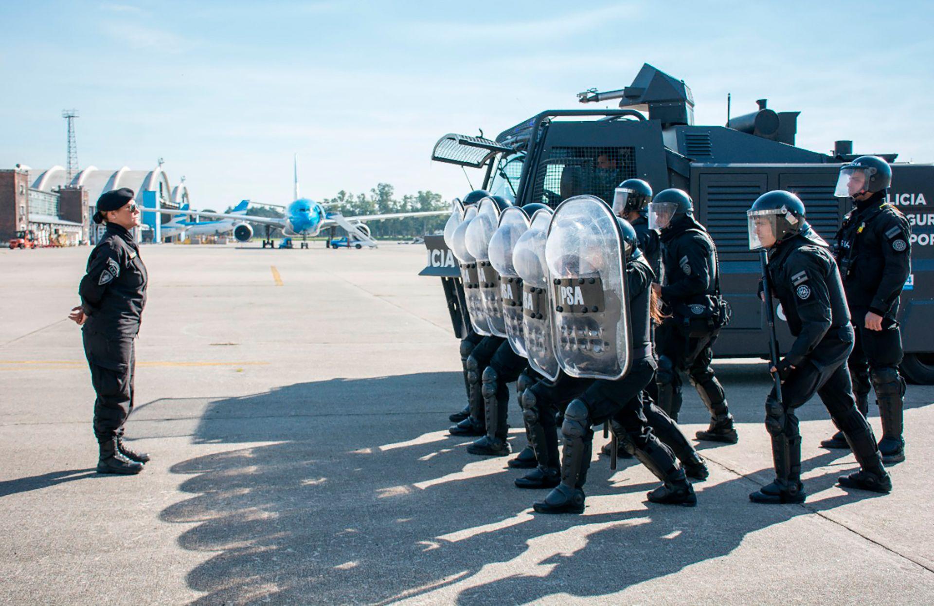 Policía de Seguridad Aeroportuaria (PSA)