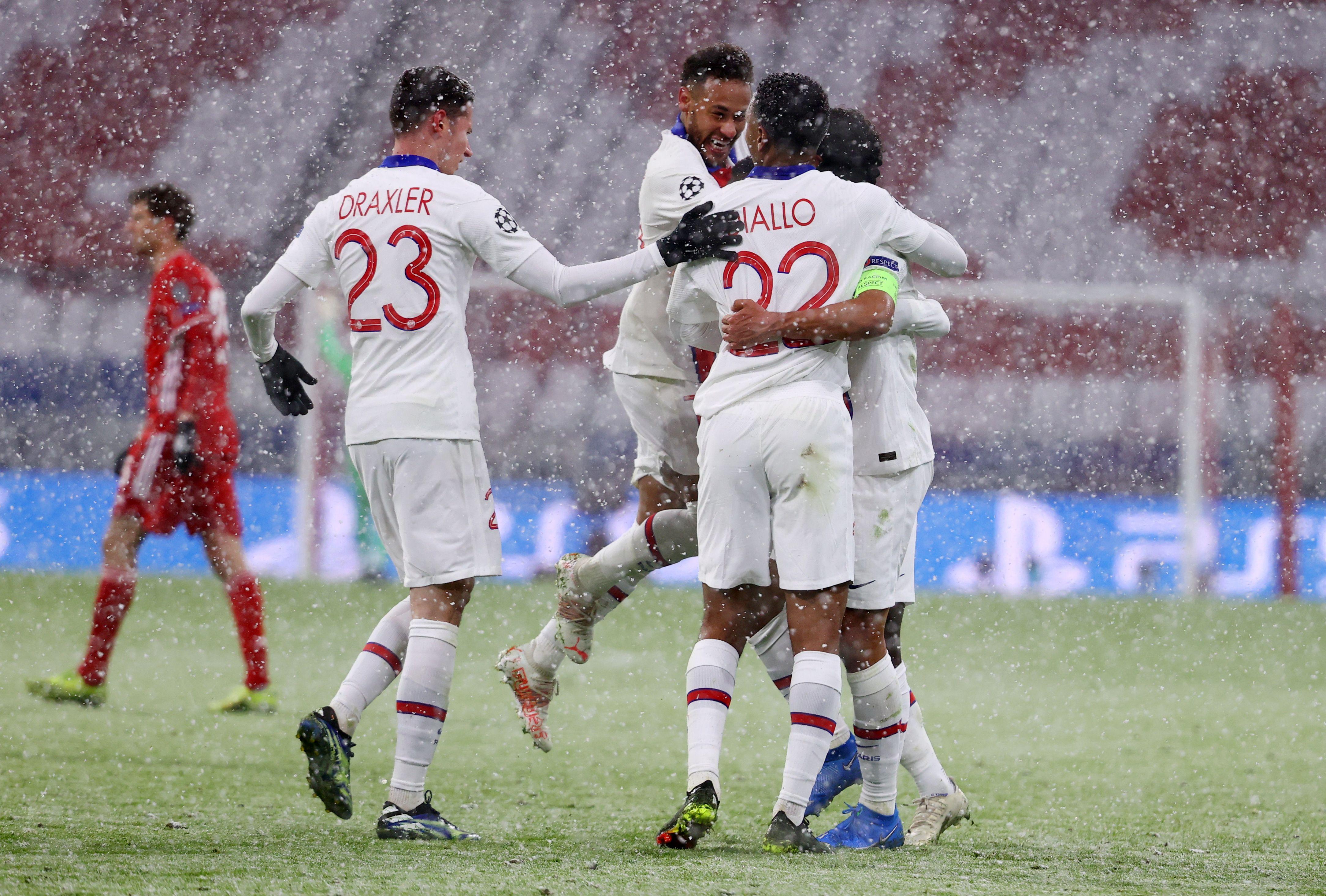 Los jugadores del PSG quisieron tomarse revancha de lo que había sucedido en la final de la edición pasada