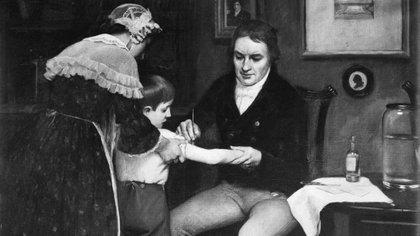 Edward Jenner fue el médico rural inglés que creó la vacuna contra la viruela