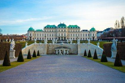 Castillo de Belvedere en Viena.  Foto: Pixabay.
