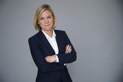 07/11/2016 La ministra de Finanzas de Suecia, Magdalena Andersson. POLITICA ECONOMIA GOBIERNO DE SUECIA