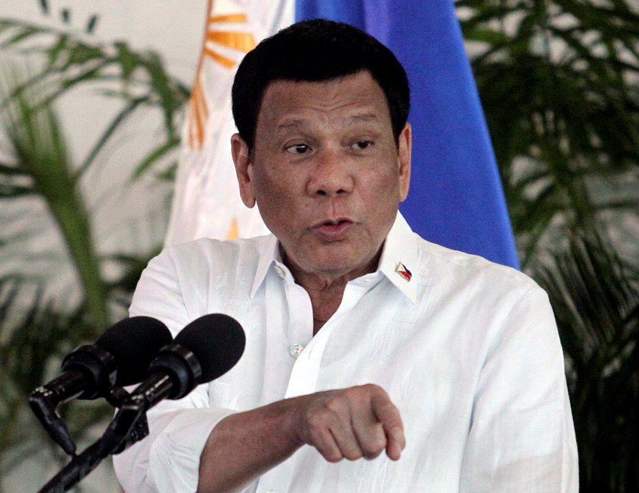 11/09/2018 Rodrigo Duterte POLITICA ASIA INTERNACIONAL FILIPINAS ELOISA LOPEZ / LEAN DAVAL JR