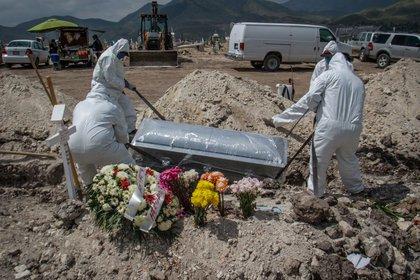En el país existe una aumento de 219% en el número de muertes (Foto: EFE/Joebeth Terriquez/Archivo)